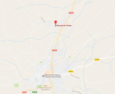 Mapa Mezquita de Tótoles