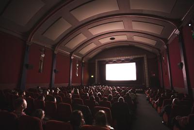 Proyeccion Festival de cine de comedia Tarazona