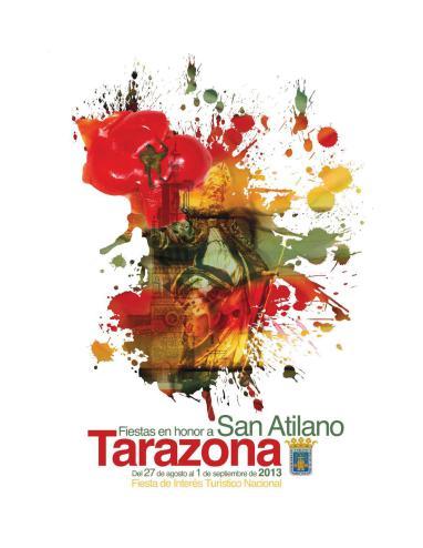 Cartel de fiestas de Tarazona