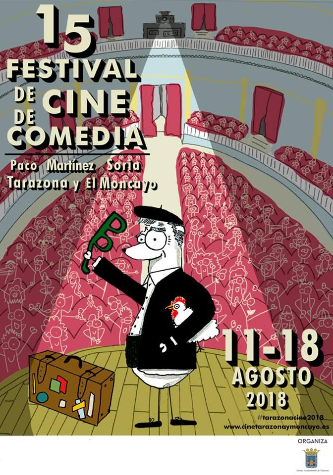 cartel festival de cortos tarazona